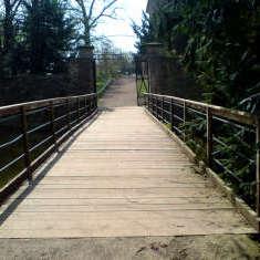 Rückweg über Brücke