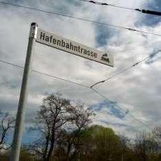 Bahntrassenradeln in Halle