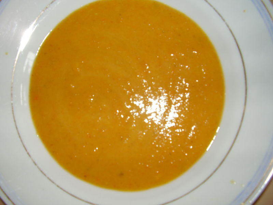 Möhren-Bananen-Suppe