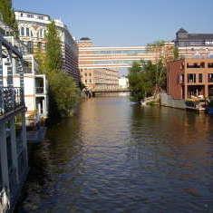 Wasseridyll in Leipzig