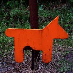 Hunde-Andockstation VARUS-Ausstellung in Kalkriese