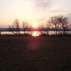 Am Süßen See bei Seeburg im Winter 2008