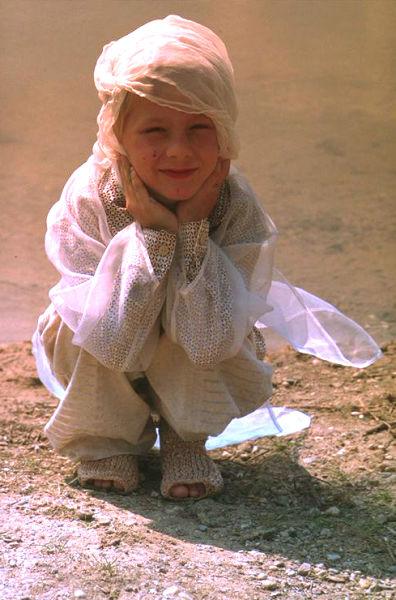 Diplomkollektion Kinderkleider 1994