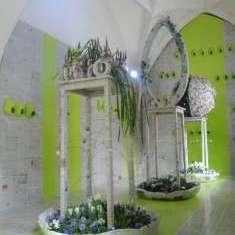 Floristik-Ausstellung Ostern 2012 in der Neuen Residenz Halle