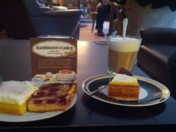 Kuchen am Valentinstag in 'Kaufmanns Laden'