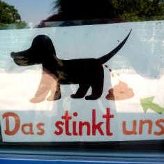 Hundeschild