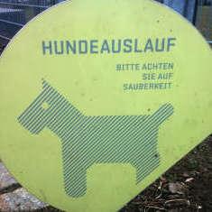 Hundeschild in Berlin