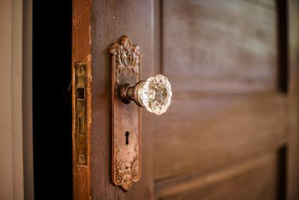 Alte Tür - was mag dahinter sein?