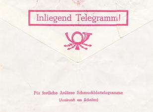 Der lange Weg eines Telegramms