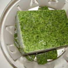 Spinat mit Griesskloesschen