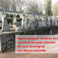 Wegbeschreibung zum Grab von Martin Schmidt