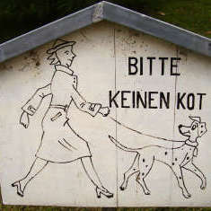 Hundeschild Bad Dürrenberg
